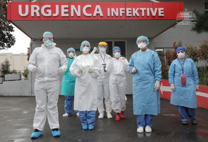 Lajm i mirë/ 9 persona lanë spitalin sot, shkon në 85 numri i të shëruarve