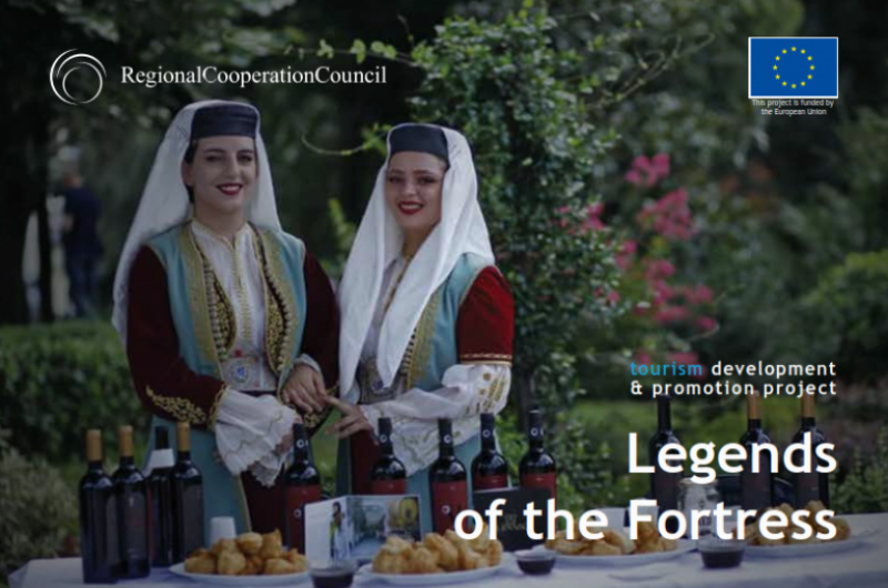 """Kalaja e Lezhës pjese e projektit për """"ringjalljen"""" e turizmit të kështjellave në Ballkan"""