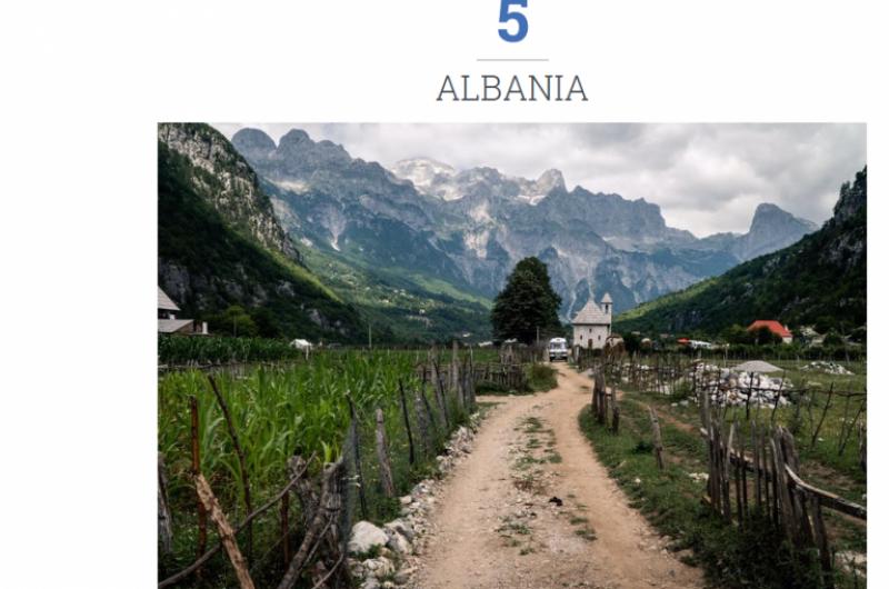 """""""The Travel"""" liston Shqipërinë si një destinacion për çdo backpacker"""