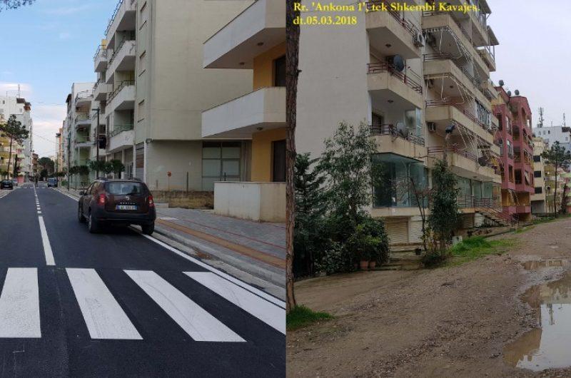Ja si është transformuar zona rezidenciale tek Shkëmbi i Kavajës