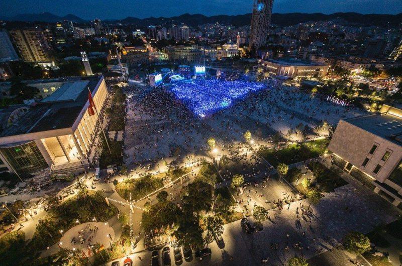 """Çmimi i parë në Spanjë për """"Sheshin Skënderbej"""""""