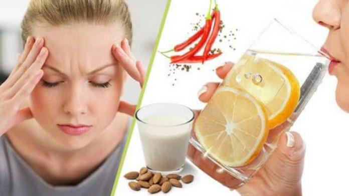Ushqimet që shërojnë migrenën dhe largojnë dhimbjet