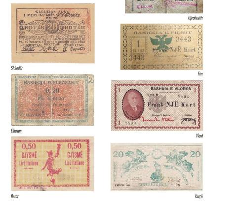100 vite më parë/ A e dini se cilat qytete kishin kartmonedhat e tyre lokale (FOTO)