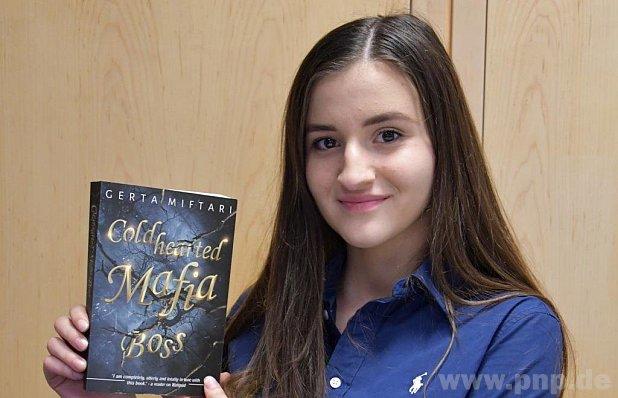 15-vjeçarja shqiptare boton romanin e saj të parë në Gjermani…në anglisht