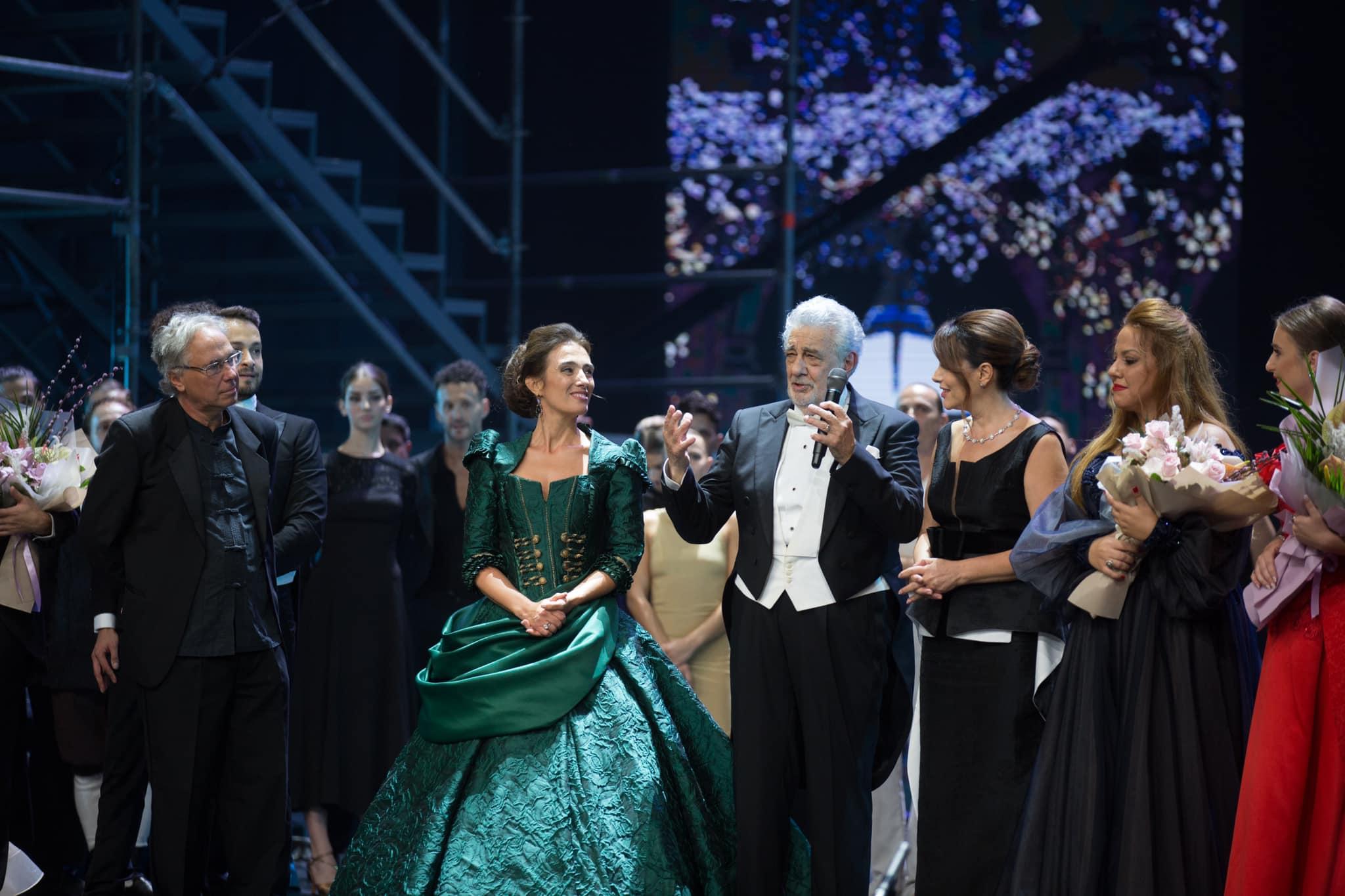 Tirana kryeqendër botërore e artit, Placido Domingo dhe Ermonela Jaho shkëlqejnë në skenën e re të TKOB (FOTO)