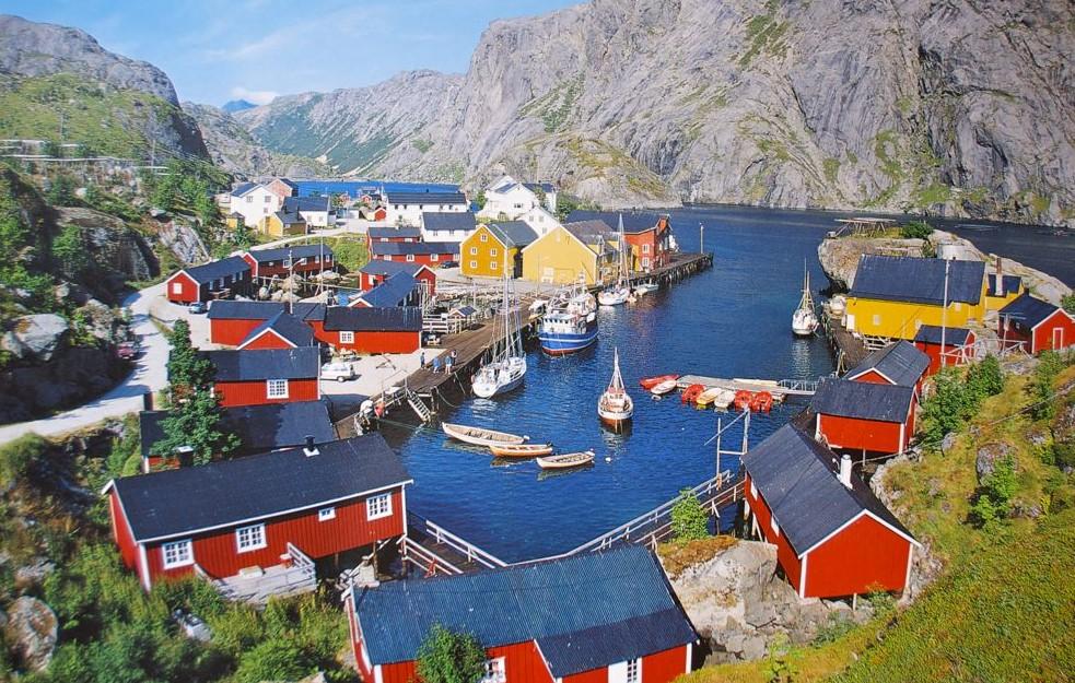 FOTOT/ Njihuni me fshatin me emrin më të shkurtër në botë